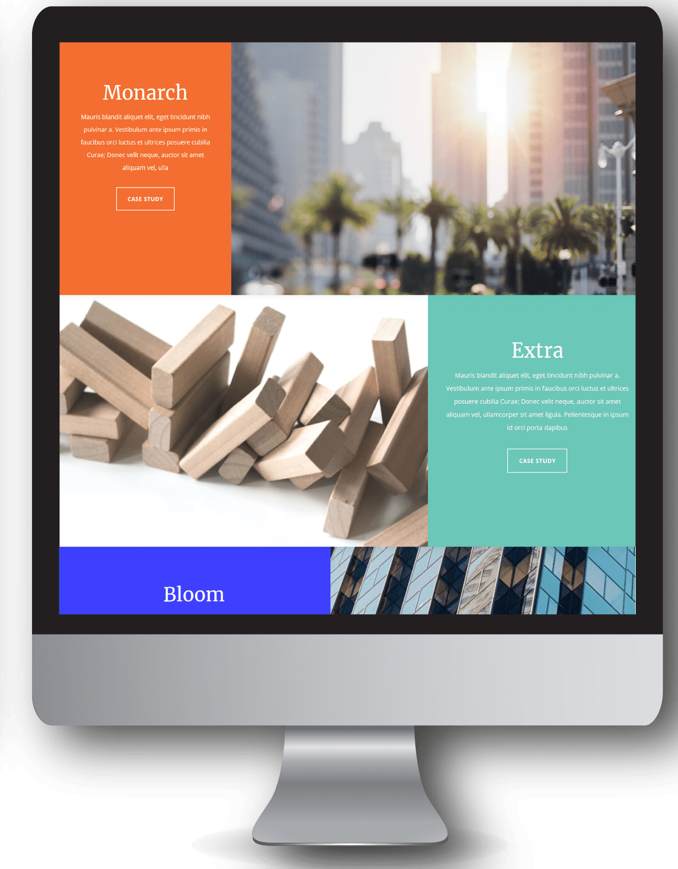 Site prêt à l'emploi pour les entreprises et corporate