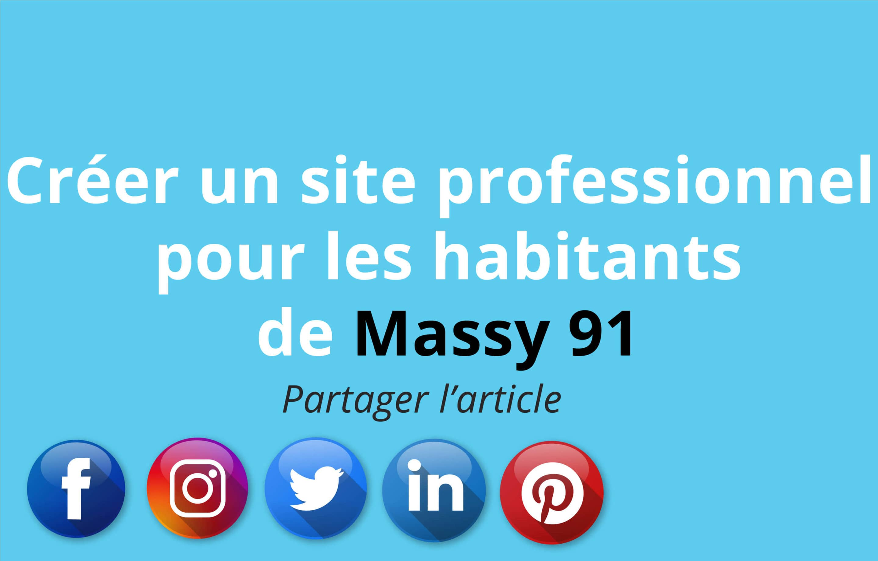 creation de site pour les habitants de Massy en Esssonne 91